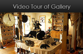 video tour of gallery